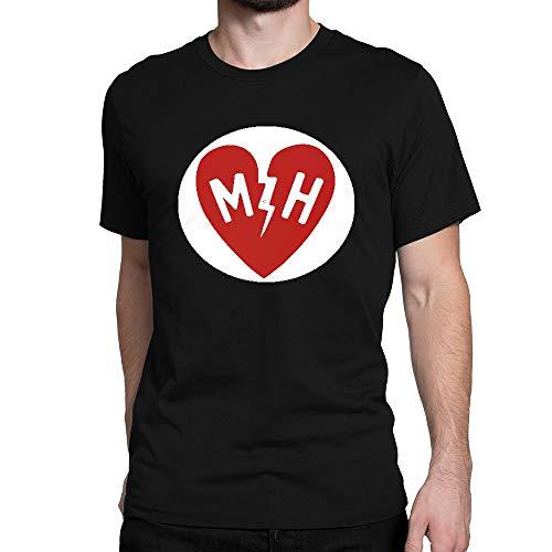 JIANGMUYA Men's Mayer Hawthorne Logo T-Shirt Large