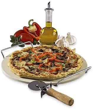 Sandra Lee 3 Piece Pizza Stone Set