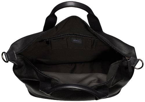 Strellson Garret Weekender 4010001280 Herren Henkeltaschen 48x45x18 cm (B x H x T), Schwarz (black 900) Schwarz (Black 900)
