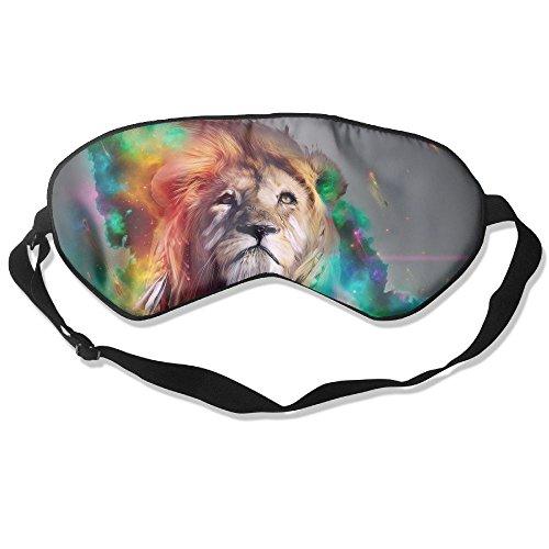 Silk Sleeping Masks Lion Eyepatch Eye Masks Adjustable Sleeping Eye Shade ()