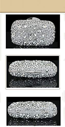 de Incrusté Parti soirée Pochette Sacs B 7x5inch Luxe Brille 18x13cm C Bal de Et Jours soirée Sac Femme d'autres Main à fériés Diamants de qAHxdwfq5O