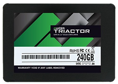 Mushkin MKNSSDTR240GB Triactor 240GB SATA III 7mm Solid State Drive