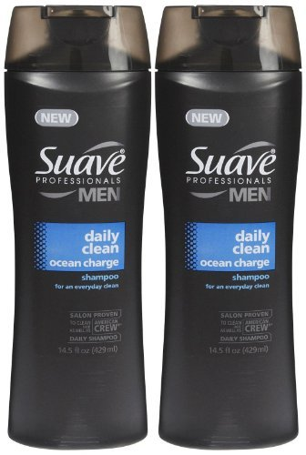 Suave Shampoo - Daily Clean Ocean Charge - 12.6 oz - 2 pk