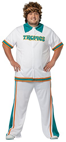 Mens Halloween Costume- Semi Pro Warm Up Suit Plus Adult Costume