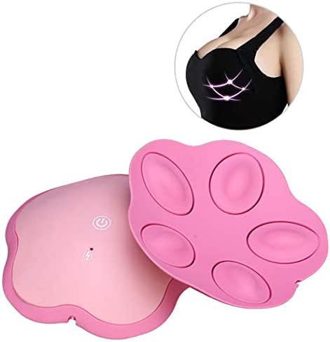 ZZZXZ Chest Massager Wireless Infrared Ray Health Care Vibration Hot Compress Electric Breast Massage Improve Sagging Breast Enlargement