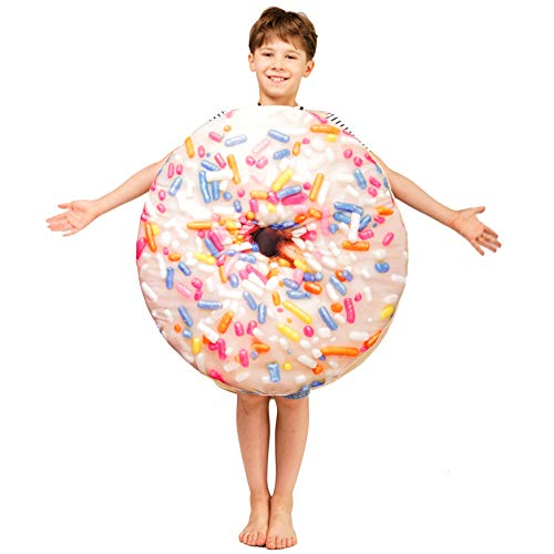 PGOND Kids Donut Jumpsuit Cute Costume Unisex (Light Color) ()