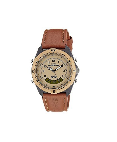 e3a700dceb60 Buy Timex Expedition Analog-Digital Beige Dial Men s Watch - MF13 Online at  Low Prices in India - Amazon.in