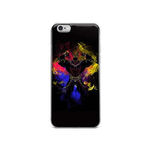 iPhone 6/6s Case Anti-Scratch Japanese Comic Transparent Cases Cover Biggest Hero Art Anime & Manga Graphic Novels Crystal Clear (Max Dancer On Dancing With The Stars)
