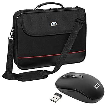"""PEDEA Trendline - Maletín para ordenador portátil de 15.6"""" (incluye ratón), ..."""