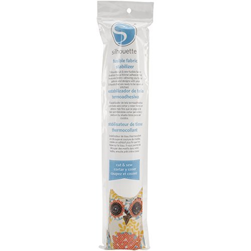 Brand New Silhouette Fusible Fabric Stabilizer 12''''X60'''' Roll-Cut & Sew Brand New by M1N4B6