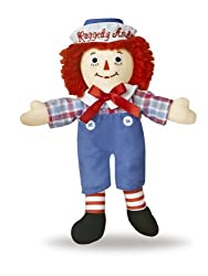 Aurora World Raggedy Andy Classic Doll 8""