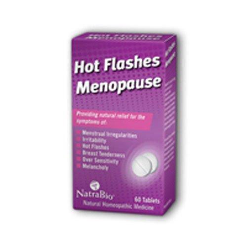 Natra Hot Flashes Bio - NATRA-BIO HOT FLASHES/MENOPAUSE, 60 TAB