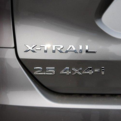 Dsycar 1 Set 3D M/étal 2.5 4X4-i Logo De Voiture C/ôt/é Fender Arri/ère Coffre Embl/ème Badge Autocollant Stickers
