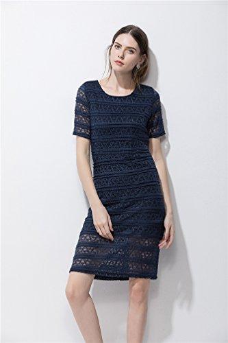 Cocktailkleid midi blau - Stylische Kleider für jeden tag