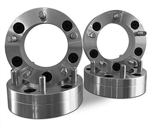 4 Wheel Adapters 6x5.5 to 5x5.5 2