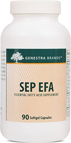 Genestra Brands – SEP EFA – Omega Fatty Acids to Support Optimal Cardiovascular, Neuronal and Cognitive Health* – 90 Softgel Capsules