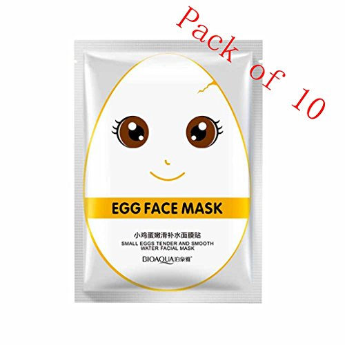 Moisturizing Mask, Hometom Egg Bright Mask Moisturizing Wate