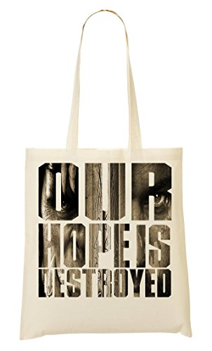 Our Hope Is Destroyed Games Inspired Collection Nice To Hopeless Place Sac Fourre-Tout Sac À Provisions