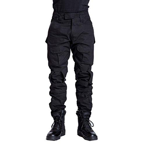YuanDiann Homme Tactique Pantalon De Camouflage Militaire Multi-Poches Respirant Imperméable Armée Battle Trekking… 1