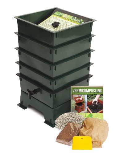 -Tray Worm Composter, Green ()