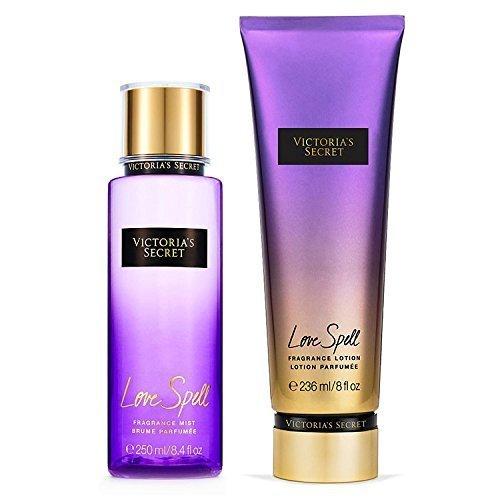 Victorias Secret Love Spell Lotion and Mist Set