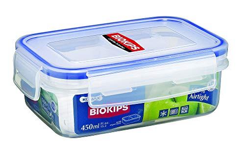 Komax Plastic Food Storage Container   450 ml, Transparent