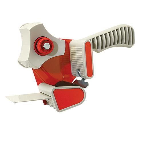 Plastic & Steel Packing Tape Dispenser - For 50mm x 66m Tapes - Pistol Grip