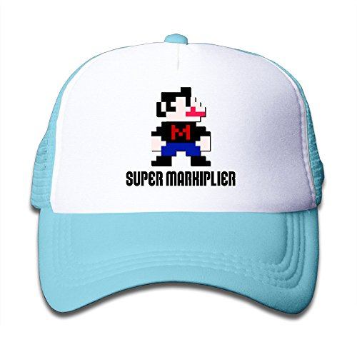 (ALIZISHOP Youth Super Markiplier Adjustable Mesh Trucker Cap)