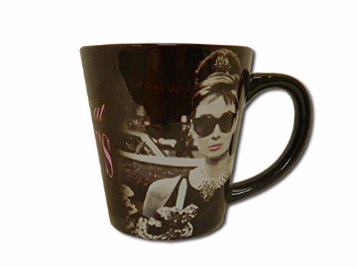 Audrey Hepburn 14 oz Latte Mug - Breakfast At - Tiffany South