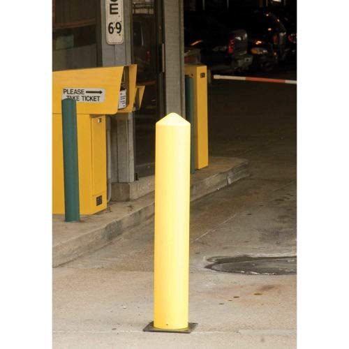 Eagle Poly Bollard Post Yellow 7