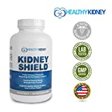 Cheap Best Kidney Supplement to Protect & Support Normal Healthy Kidney Function, Creatinine, Kidney Cleanse & Support Kidney Health for Quick Renal Detox Kidney Flush Kidney Shield™ Omega3