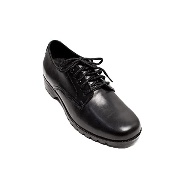 Cosycost Women's Oxford Dress Shoes,Real Leather Lace-up Breathable Comfortable Low-Heeled Formal Office Working Business Shoes For Women 017M
