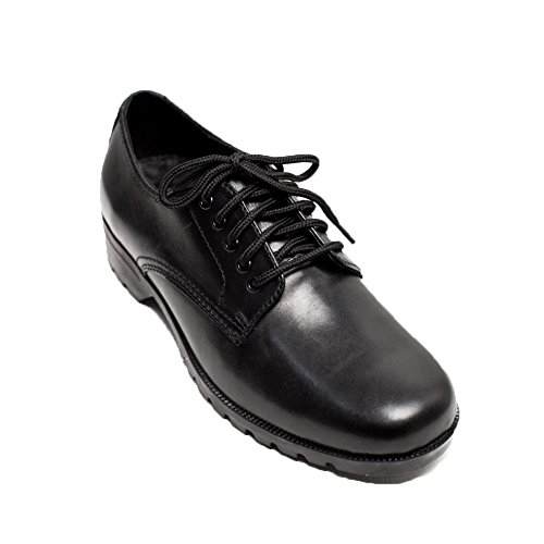 Formal Women Women's Shoes Business For heeled Office Cosycost Leather Oxford Black Low Real Working Dress w8x1q4O