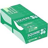 Square Organics Organic Chocolate Coated Protein Bar, Mint, 20.3 Ounce