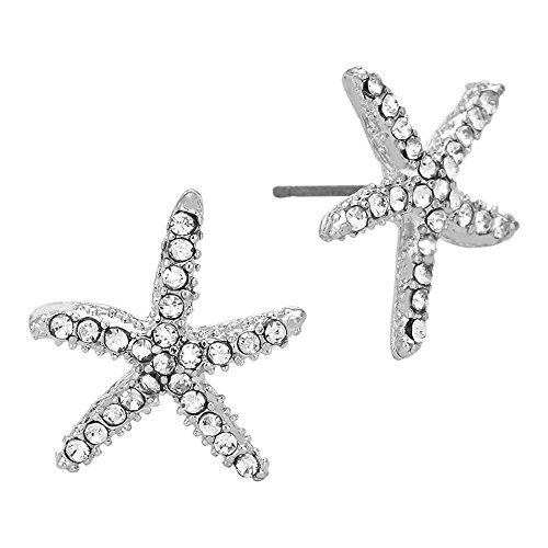 Liavy's Starfish Fashionable Earrings - Stud - Sparkling for sale  Delivered anywhere in USA