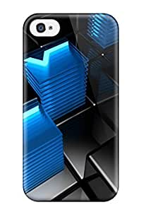 Durable Case For The Iphone 4/4s- Eco-friendly Retail Packaging(3d)