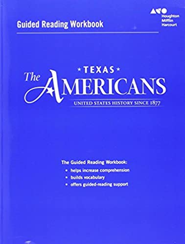 amazon com the americans guided reading workbook united states rh amazon com the americans guided reading answers the americans guided reading 26-1