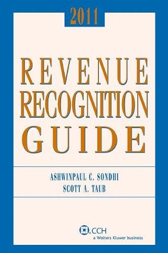 Revenue Recognition Guide by Scott A. Taub (2010-11-01) (Taub Scott)