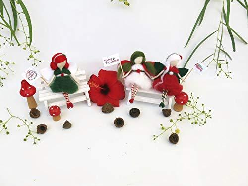 Christmas Fairies Decorations Set, Christmas Tree, Christmas Ornaments 1st  Christmas - Amazon.com: Christmas Fairies Decorations Set, Christmas Tree
