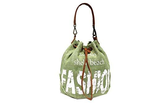 Borsa donna Lookat l.fashion mod.secchiello a spalla 0294 verde