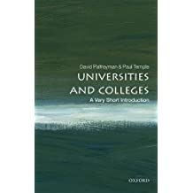Universities and Colleges: A Very Short Introduction
