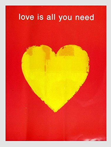 (The Beatles Love is All You Need Limited Edition CD Promotion Poster 18 x 24)