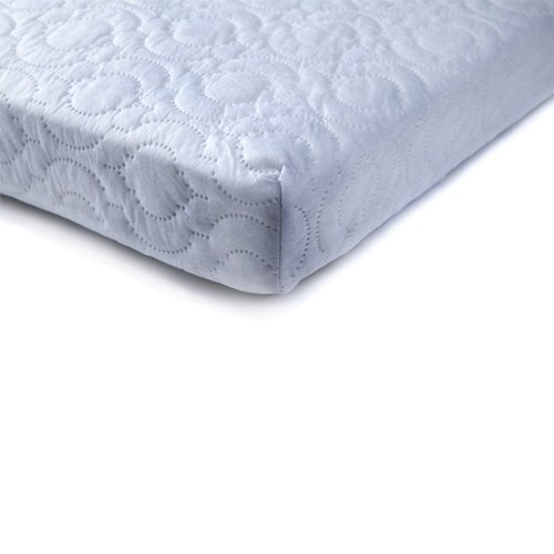 Ready Steady Bed/® Travel Cot Mattress Size: 65cm x 95cm 7cm Thick Quilted Anti-Allergenic /& Breathable Reversible and BRITISH MADE Fits Most Graco Mamas /& Papas