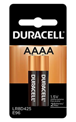 Duracell MX2500B2PK Ultra Racell Photo Alkaline-Manganese Dioxide Battery Pack, AAAA Size, 1.5V (Case of 6 Cards, 2 Unit per Card) by Duracell