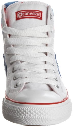 White Canvas Adult Red M Taylor Converse Blue Unisex Chuck xq1wYxSaR
