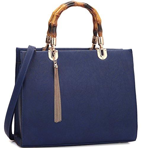 Blue Multi Color Handbag - 9