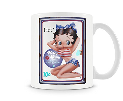 - Officially Licensed Betty Boop HOT Coffee Mug