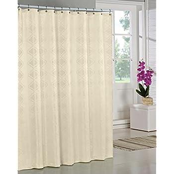 On Sale SAM HEDAYA Wellington Shower Curtain Yellow
