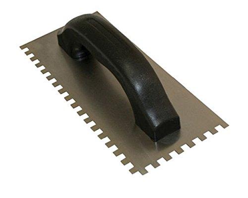 kraft-tool-hc168p-hi-craft-square-notch-trowel-with-9-x-4-inch-steel-blade-1-16-x-1-16-x-1-16-inch