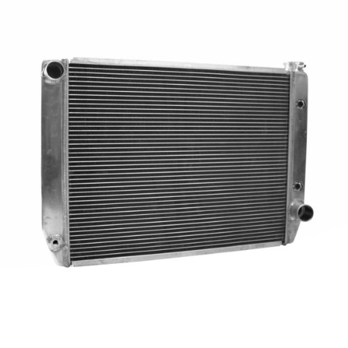 Griffin Radiator 1-25242-T Universal ClassicCool 27.5'' x 19'' Aluminum Radiator with 2 Rows of 1'' Tube by Griffin Radiator (Image #1)